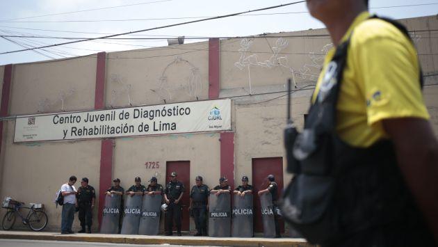 Recién tras la escandalosa fuga se ha dispuesto la presencia de agentes de la Policía en 'Maranguita'. (C. Fajardo)