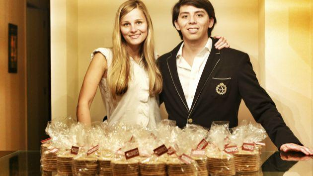 1,500 paquetes de Stroop-wafel vende su empresa al mes.