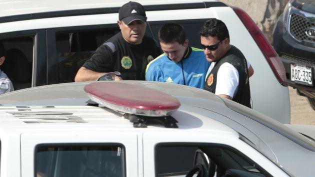 A sus 17 años 'Gringasho' refleja la actitud de un avezado delincuente, según la Policía Nacional. (César Fajardo)