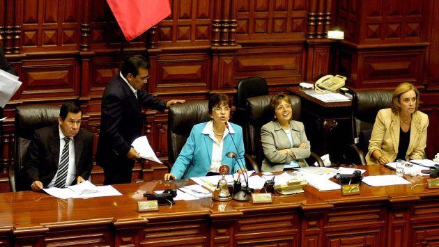 AUSTERIDAD. Cabanillas redujo los ingresos de los legisladores. (Difusión)