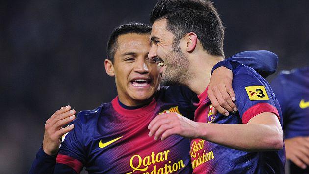 Entre el 'Guaje' y Alexis marcaron cuatro goles. (AP)
