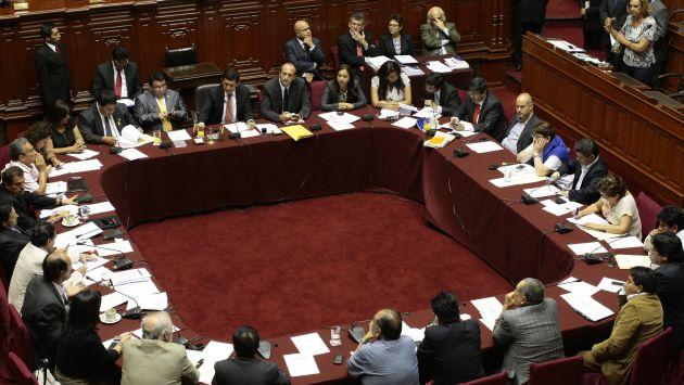 SE CERRARON. El oficialismo en la Comisión Permanente no escuchó ninguno de los argumentos de la oposición. (David Vexelman)