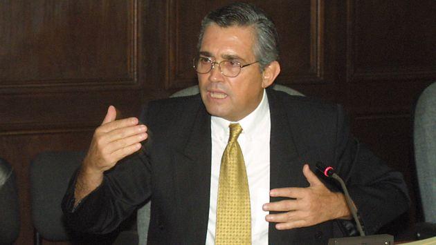 Será extraditado. Exministro era buscado por la justicia peruana desde el año 2005. (USI)