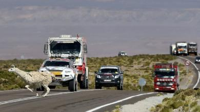 FOTOS: La otra cara del rally Dakar 2013