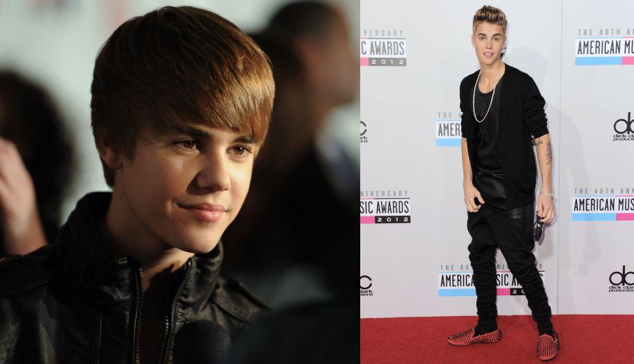 Justin Bieber, Lindsay Lohan, Selena Gomez, Demi Lovato, Miley Cyrus