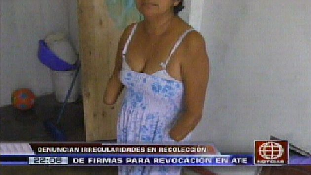 Fernández pidió que se sancionen a culpables. (Canal 4)