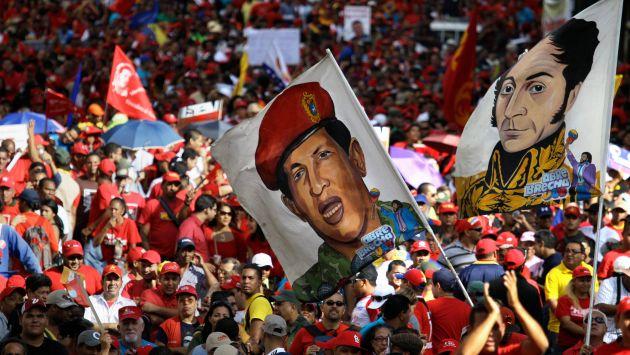 A las calles. Chavismo no quiere darle ningún espacio a la oposición ante la ausencia de Chávez. (AP)