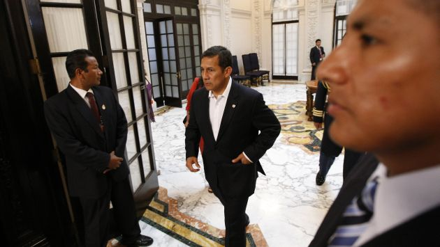 Camarón que se duerme. Humala debería aprovechar el momento para aplicar grandes reformas. (USI)