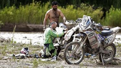Receso, Santiago de Chile, Pilotos, Rally Dakar 2013, Descanso, Tucumán, Dakar 2013