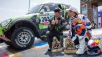 FOTOS: El fin de fiesta del Rally Dakar 2013