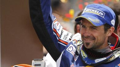 Dakar 2013: Cyril Depres gan en motos