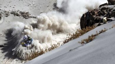 FOTO: La mejor imagen del Dakar 2013