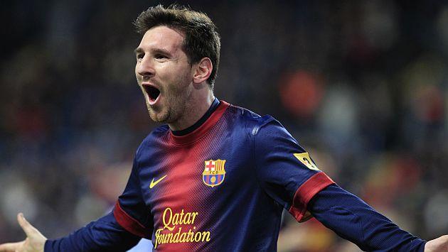 Tantas veces, Lio. Messi volvió a celebrar. (AP)