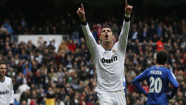 Real Madrid 4 1 Getafe Merengues Vencieron Con Goles De: Real Madrid Y Cristiano Ronaldo Hicieron Polvo Al Getafe