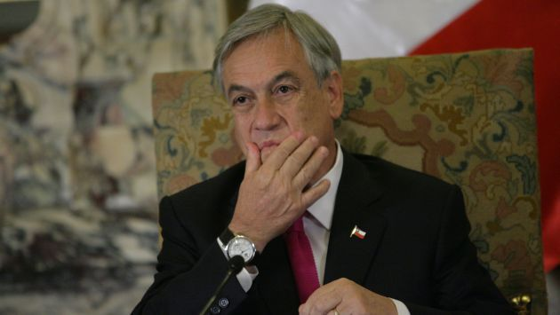 POLÉMICA. Las palabras del mandatario Piñera generaron rechazo e indignación en el Perú. (Luis Gonzáles)