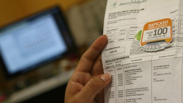 AHORRO PARA CLIENTES. Los estados de cuenta electrónicos no tendrán costo, aseguró la SBS. (Rafael Cornejo)