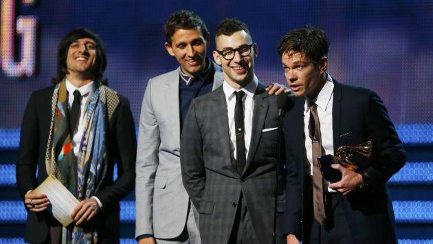 Fun. ganó el premio a Mejor Canción del Año. (Reuters)