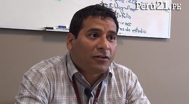 Miguel Esparta, coordinador de la Unidad Iniciativa Empresarial de la UPC. (Perú21)