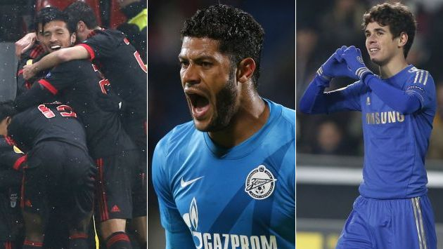 Zenit, Benfica y Chelsea ganaron en sus encuentros. (AP)
