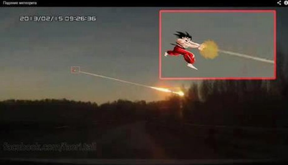 Rusia, Lluvia de meteoritos, Urales, Caída de meteorito
