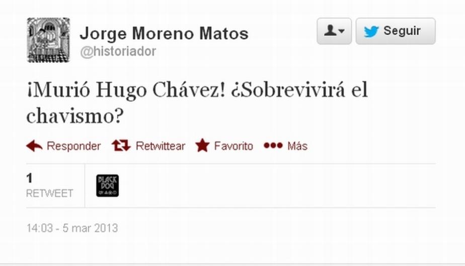 Captura: Twitter
