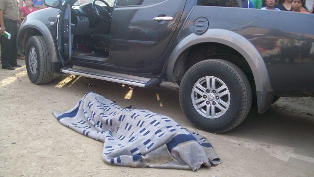 El alcalde provincial de Casma fue asesinado a balazos por sicarios luego de interceptar su vehículo en una motocicleta. (USI)