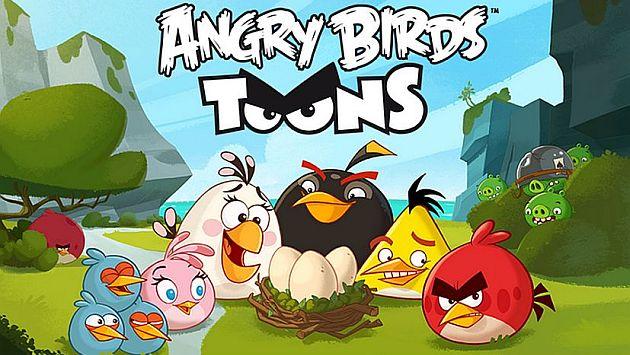 Avance del primer capítulo de la serie animada de Angry Birds ...