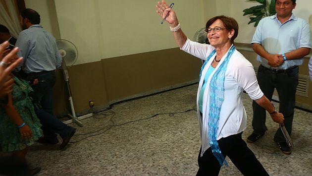 Campaña parecer haber agotado a la alcaldesa. (Rafael Cornejo/ATV )