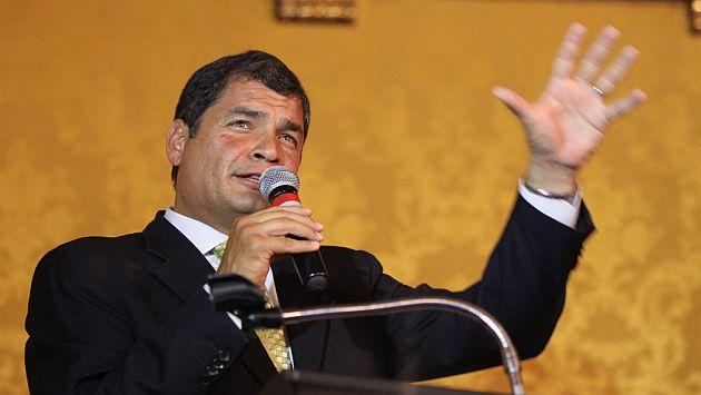 Las pretensiones de Correa para debilitar la libertad de expresión están en duda. (USI)