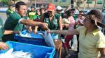 Callao: Distribuirán gratis 52 toneladas de pescado por Semana Santa - Noticias de avenida bocanegra