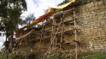 Expertos evaluarán fortaleza de Kuélap tras daños por lluvias - Noticias de cultura chachapoyas