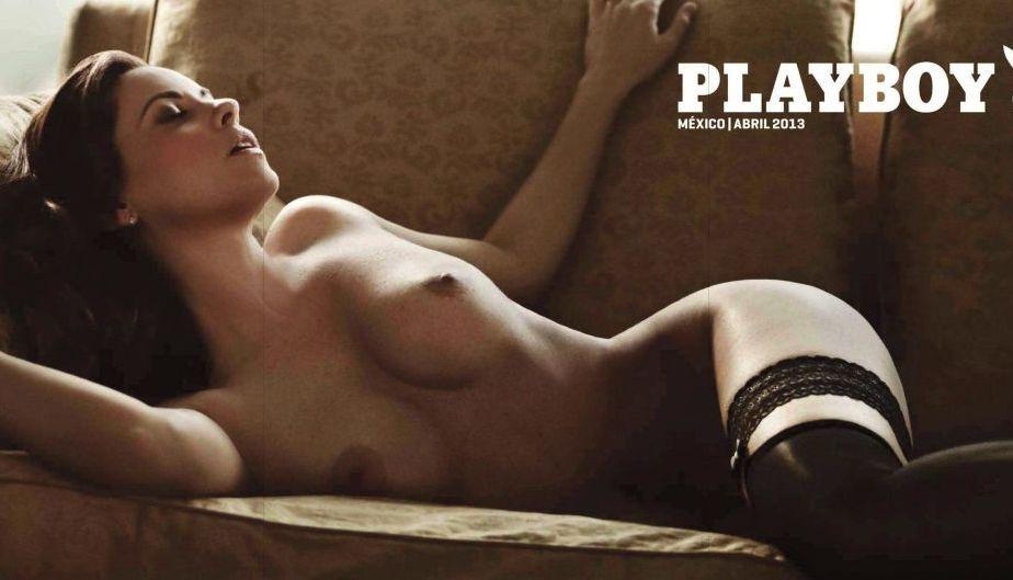 FOTOS: Todo el destape de la ex-Parchís para Playboy México