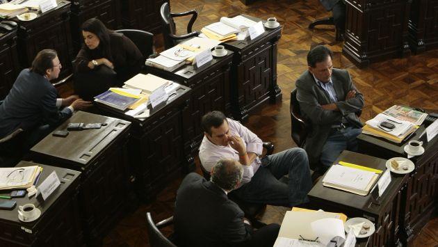 Renovación. Concejo de Lima cambiará a 24 regidores. (David Vexelman)
