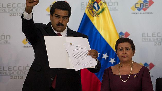 Lucena avaló investidura de Maduro sin esperar resultados de auditoría. (EFE)