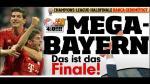 La victoria del Bayern sobre el Barcelona en las portadas alemanas y españolas - Noticias de bayern munich