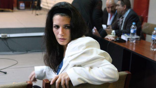 EN ESPERA. La suerte de Eva Bracamonte está en manos de la Corte Suprema de Justicia. (Luis Gonzales)