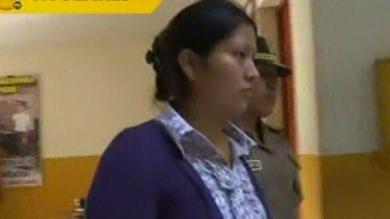 La Policía le seguía los pasos a la mujer. (Captura de TV)