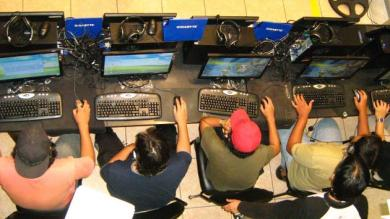 Los gamers prefieren jugar ms por Internet