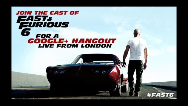 Imagen: Fast and Furious (Google+)