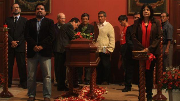 Féretro con restos de Diez Canseco tampoco será llevado al Congreso. (Andina)