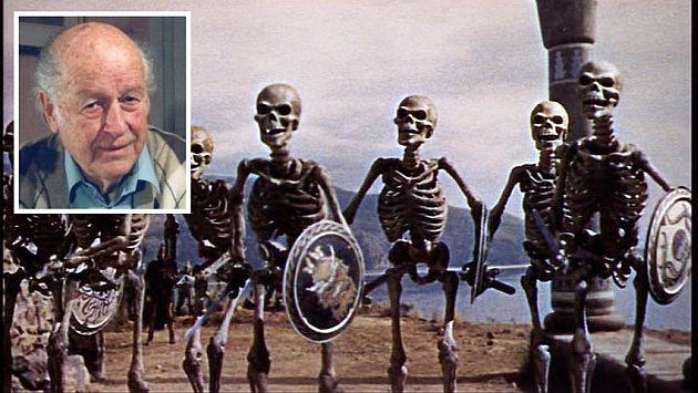 La pelea de los esqueletos fue uno de sus más memorables trabajos. (Internet)