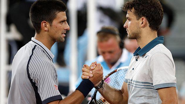 Novak Djokovic, eliminado por el nuevo Roger Federer 122819