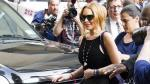 Lindsay Lohan vuelve a entrar a centro rehabilitacin