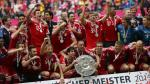FOTOS: El festejo del Bayern Munich y Claudio Pizarro en la Bundesliga