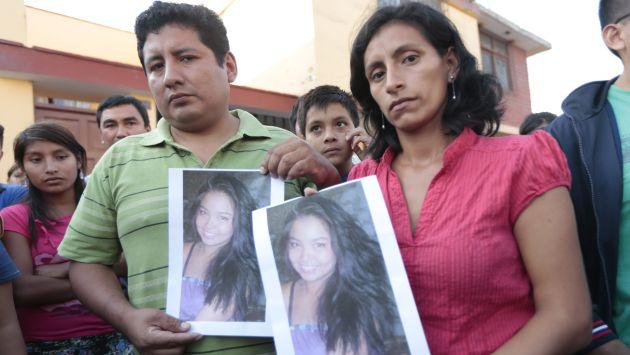 Familiares de la menor piden cadena perpetua para médico asesino. (César Fajardo)