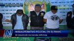 'Megaoperativo' en el Rímac desarticula dos bandas criminales - Noticias de enrique vilchez