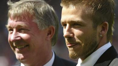 Alex Ferguson: David Beckham eligi el momento correcto para retirarse
