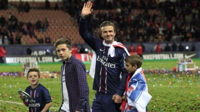 FOTOS: David Beckham, las lgrimas de un grande 