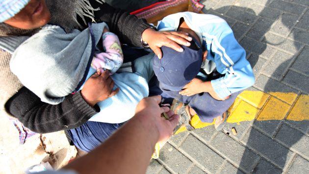 Se han encontrado casos en los que son los propios padres los que utilizan a sus hijos para obtener dinero. (Fidel Carrillo)