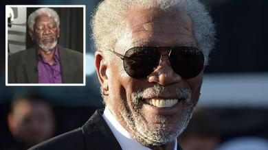 Morgan Freeman: 'No estaba durmiendo, estaba actualizando mi Facebook'
